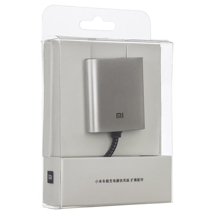 Автомобильное зарядное устройство XIAOMI Car Charger QC 3.0 USB-C + USB-A (CCPJ01ZM)