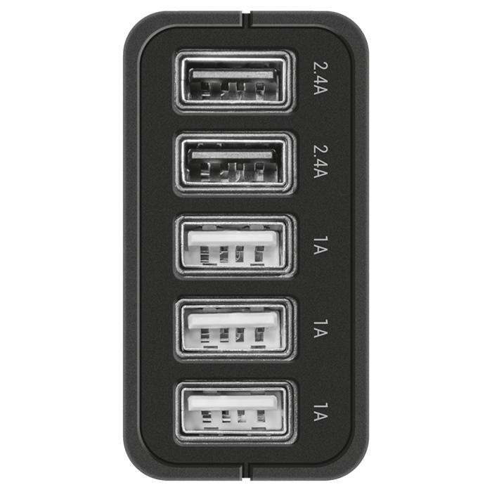 Зарядное устройство TRUST Urban 5-Port Ultrafast (21820)