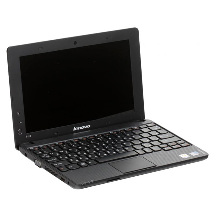 "Ноутбук LENOVO IdeaPad S110 10.1""/N2600/2GB/320GB/IntelHD/WF/Linux Black"