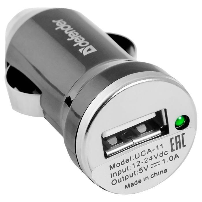 Автомобильное зарядное устройство DEFENDER UCA-11 (83560)