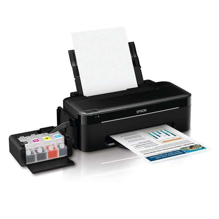 Принтер A4 цв. EPSON L100 Фабрика печати