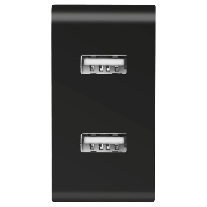 Зарядное устройство TRUST Urban 2x12W Fast Dual USB (21712)