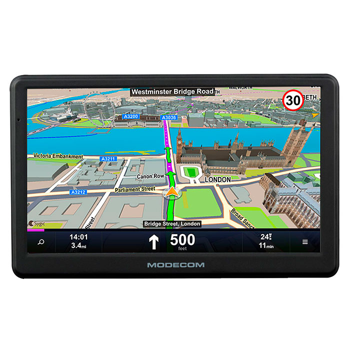 GPS навигатор MODECOM FreeWAY SX 7.1 (MapFactor)