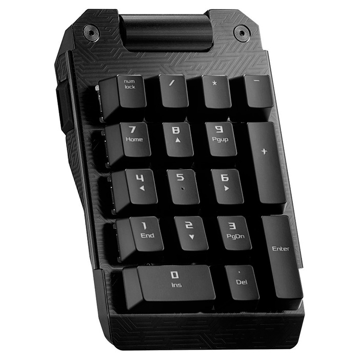 Нампад ASUS M201 Claymore Bond (MX Red Switch) (90MP00Q0-B0UA00)