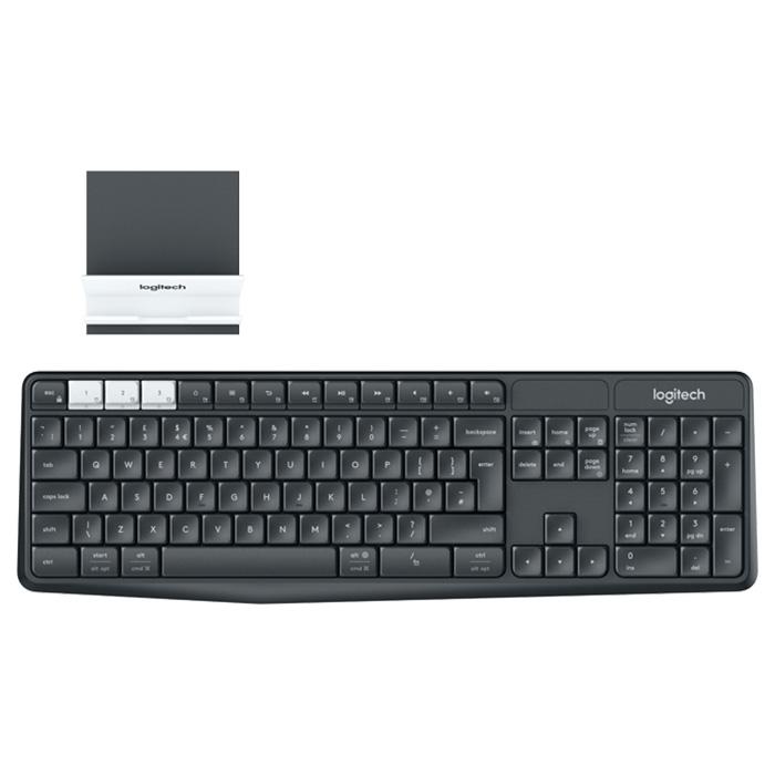 Клавіатура бездротова LOGITECH K375s Multi-Device (920-008184)