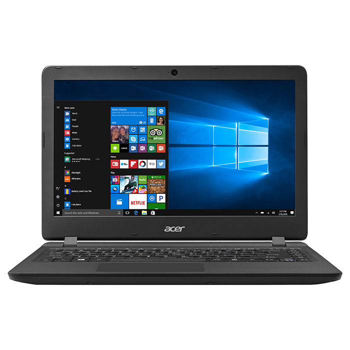 Ноутбук ACER Aspire ES1-332-P24J Midnight Black (NX.GFZEU.005)