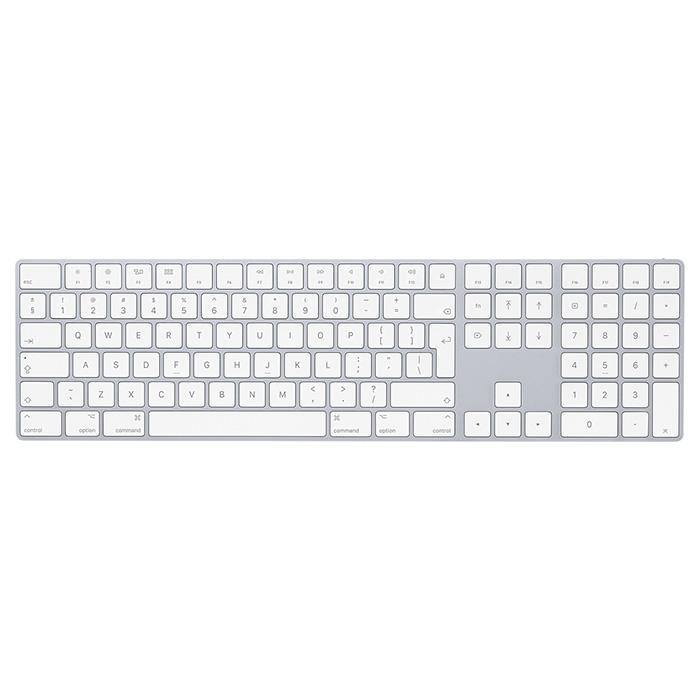 Клавіатура бездротова APPLE A1843 Magic Keyboard with Numeric Keypad Silver (MQ052Z/A)