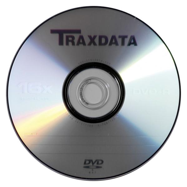 Матриця DVD+R TRAXDATA 120min/4.7GB 16x (bulk 50pcs)