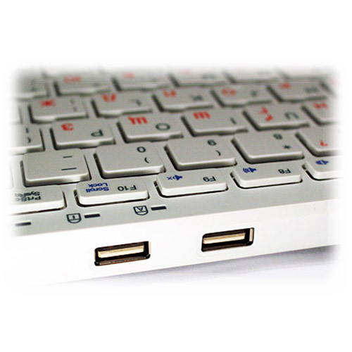 Клавіатура GOLDEN FIELD K111S Hub Silver