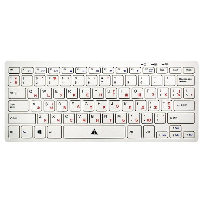 Клавіатура GOLDEN FIELD K111S Hub White