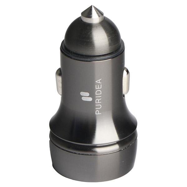 Автомобильное зарядное устройство PURIDEA CC05 Gray