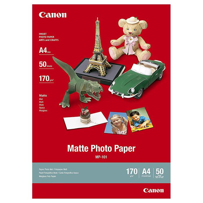 Фотопапір CANON Matte Photo Paper MP-101 A4 170г/м² 50л (7981A005~EOL)