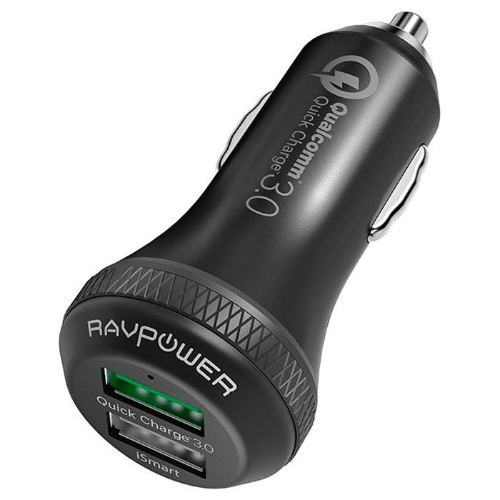 Автомобильное зарядное устройство RAVPOWER RP-VC007