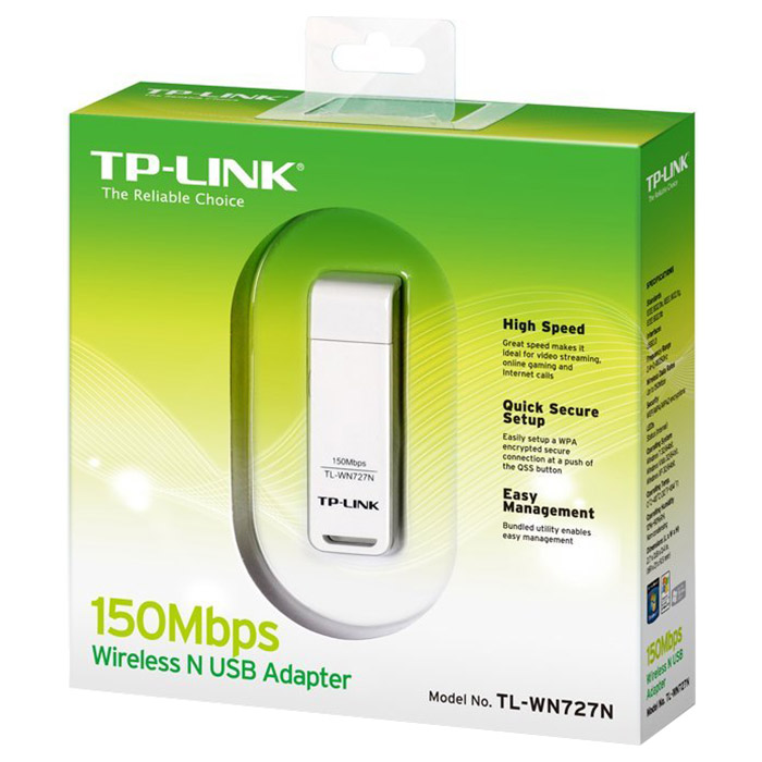 Wi-Fi адаптер TP-LINK TL-WN727N