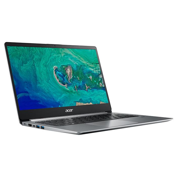 Ноутбук ACER Swift 1 SF114-32-P01U Sparkly Silver (NX.GXUEU.008)