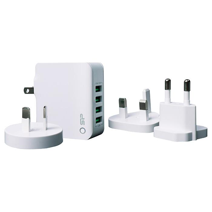 Зарядное устройство SILICON POWER WC104P Global (SP4A4ASYWC104PUW)
