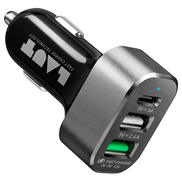 Автомобильное зарядное устройство LAUT Power Dash 7.8 (LAUT_PD05_BK)