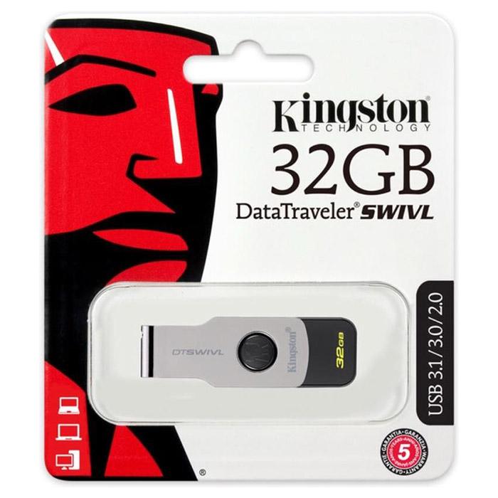 Флэшка KINGSTON DataTraveler Swivl 32GB (DTSWIVL/32GB)