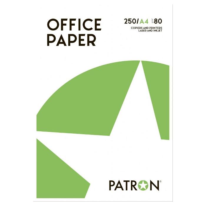 Папір PATRON A4 80г/м² 250л (PN-PU-003-2)