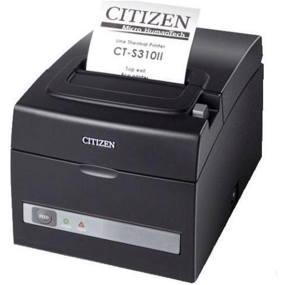 Принтер чеків CITIZEN CT-S310 Black USB/COM (CTS310IIEBK)