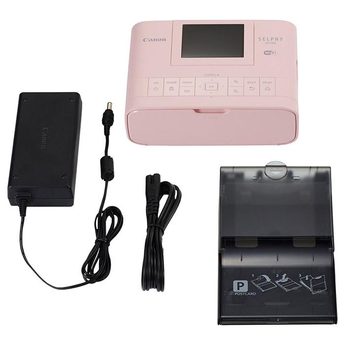 Мобільний фотопринтер CANON SELPHY CP1300 Pink