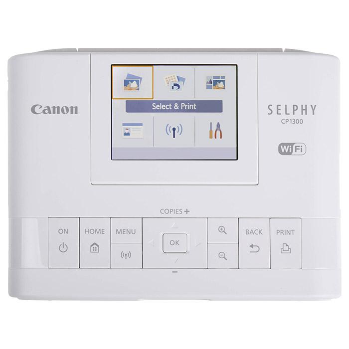 Мобільний фотопринтер CANON SELPHY CP1300 White