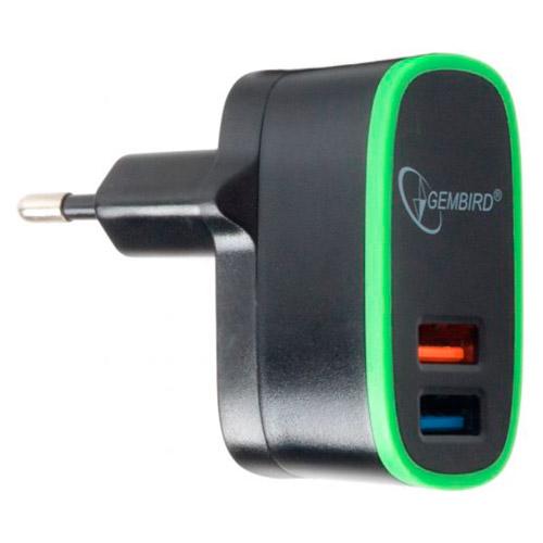 Зарядное устройство GEMBIRD MP3A-UC-AC9