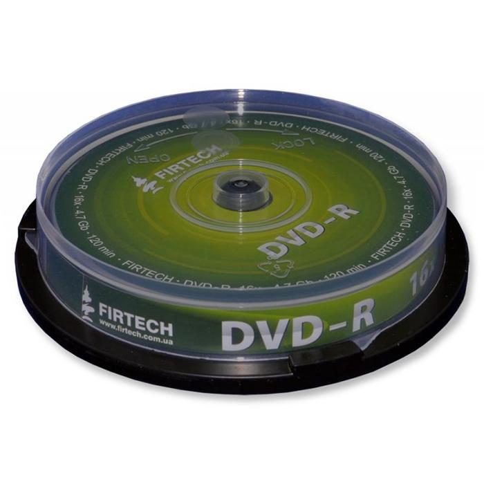 DVD-R FIRTECH 4.7GB 16x 10pcs/spindle