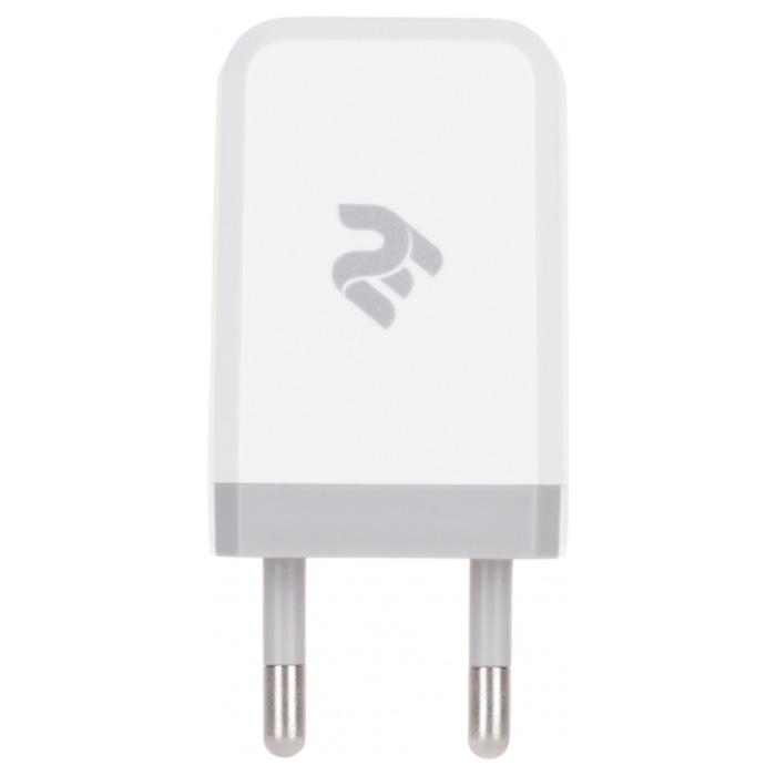 Зарядное устройство 2E Wall Charger 1USB x 2.1A (2E-WC1USB2.1A-W)