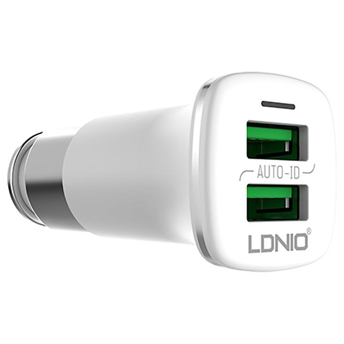 Автомобильное зарядное устройство LDNIO C301
