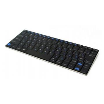 Клавіатура бездротова GEMBIRD KB-P6-BT Black