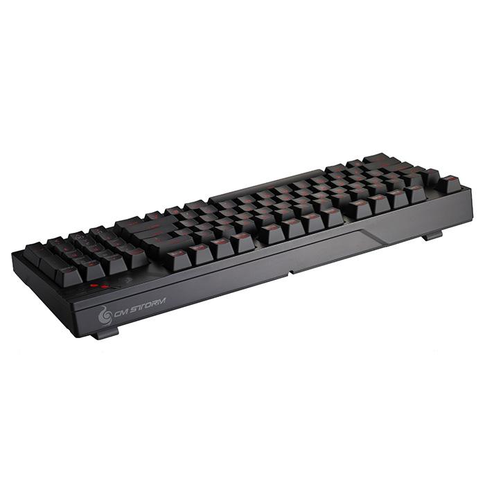 Клавіатура COOLER MASTER CM Storm QuickFire TK (MX Red Switch) (SGK-4020-GKCR1-RU)