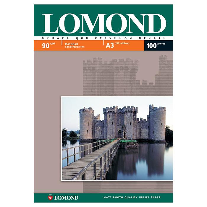 Фотобумага LOMOND A3 0102011