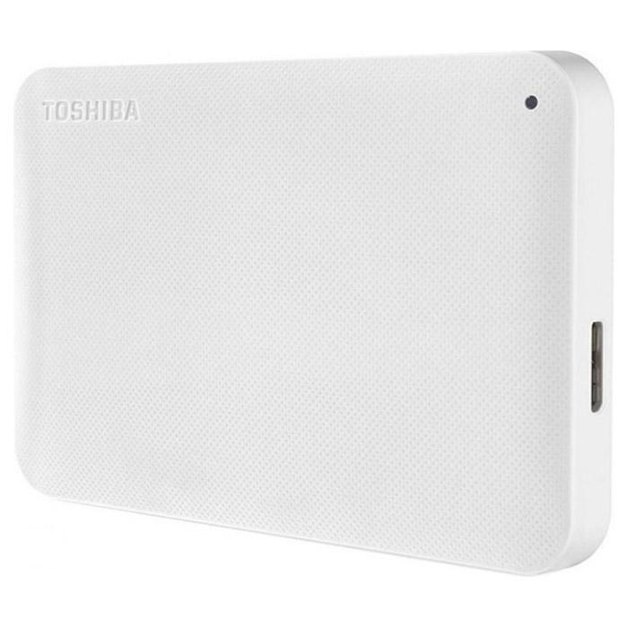 Портативный жёсткий диск TOSHIBA Canvio Ready 1TB USB3.0 White (HDTP210EW3AA)