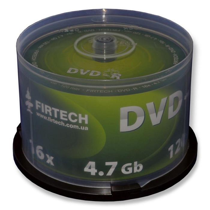 DVD-R FIRTECH 4.7GB 16x 50pcs/spindle