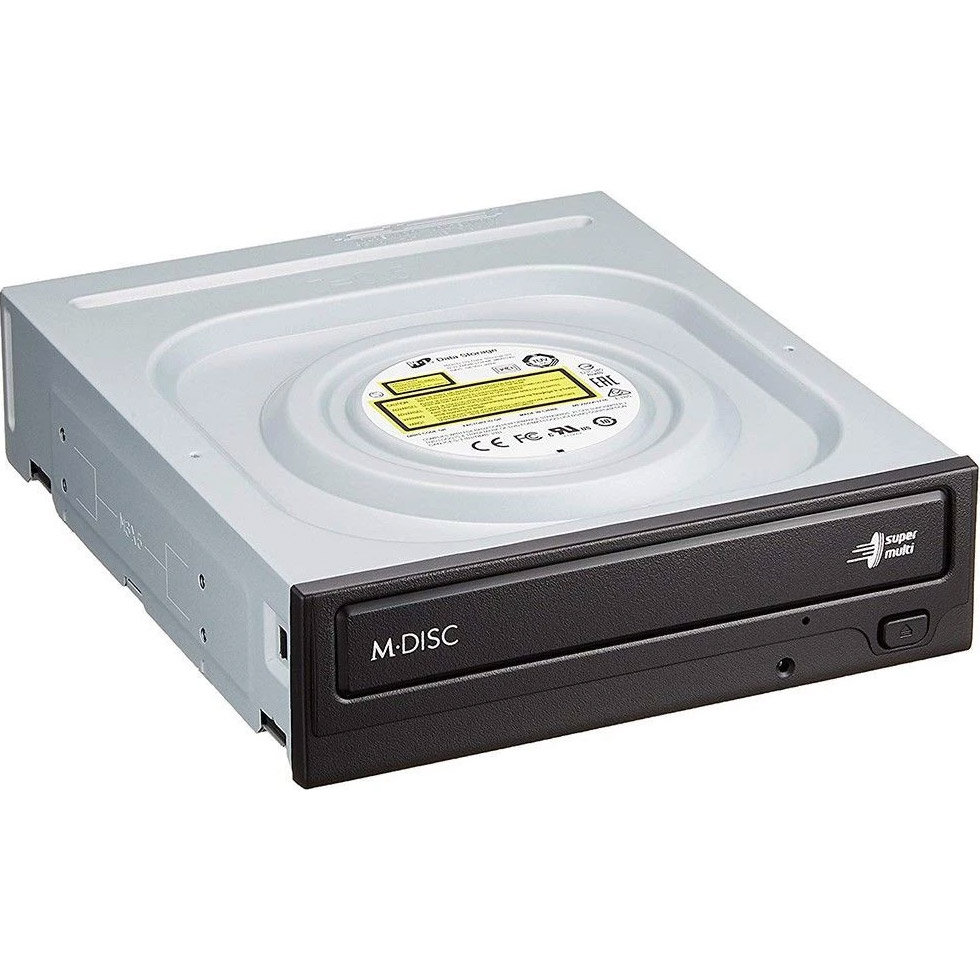 Привод DVD±RW HITACHI-LG Data Storage GH24NSD5 SATA Black