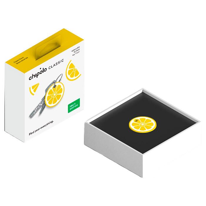 Брелок поисковый CHIPOLO Classic Fruit Edition Лимон (CH-M45S-YW-O-G)
