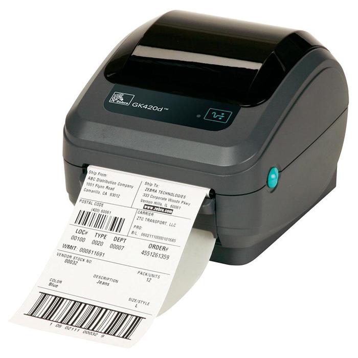 Принтер етикеток ZEBRA GK420d USB (GK42-202520-000)