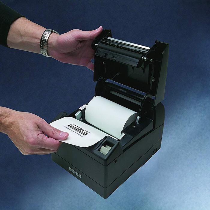 Принтер чеків CITIZEN CT-S4000/L Black USB/COM (CTS4000RSEBKL)
