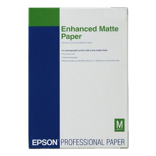 Фотопапір EPSON Enhanced Matte A3+ 192г/м² 100л (C13S041719)