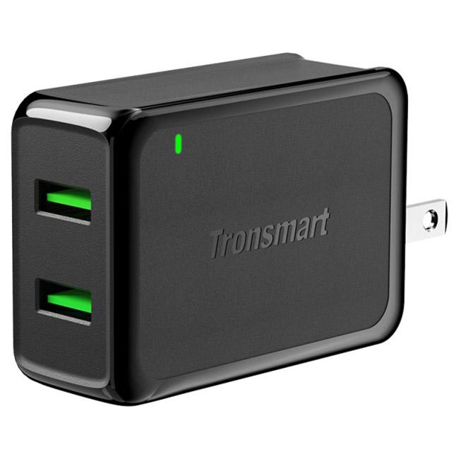Зарядное устройство TRONSMART W2TF 2 Ports Quick Charge 3.0 USB (232340)