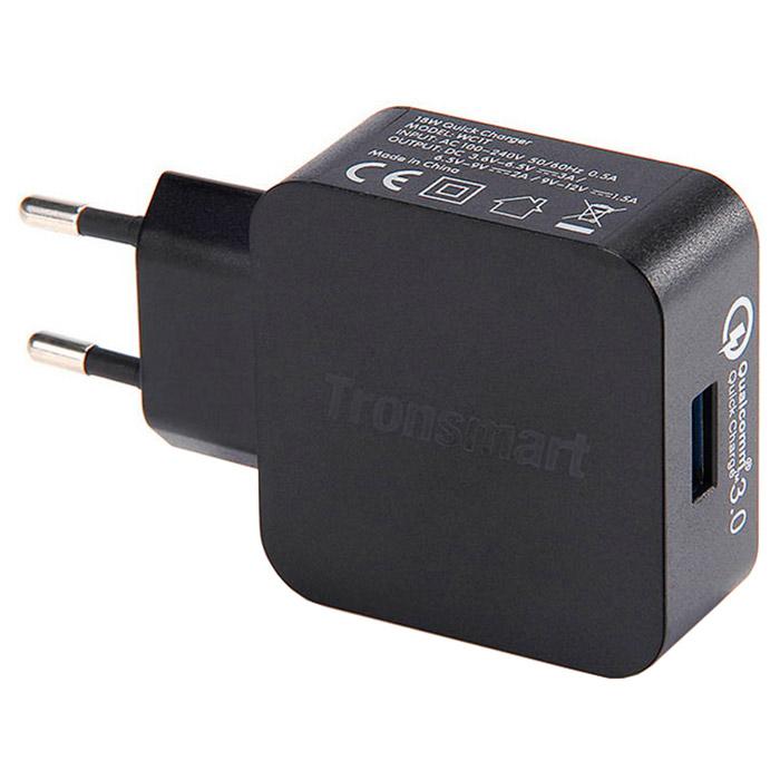 Зарядное устройство TRONSMART WC1T Quick Charge 3.0 USB (210775)