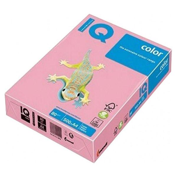 Папір кольоровий MONDI IQ Color Pink A4 80г/м² 500л (A4.80.IQP.OPI74.500)