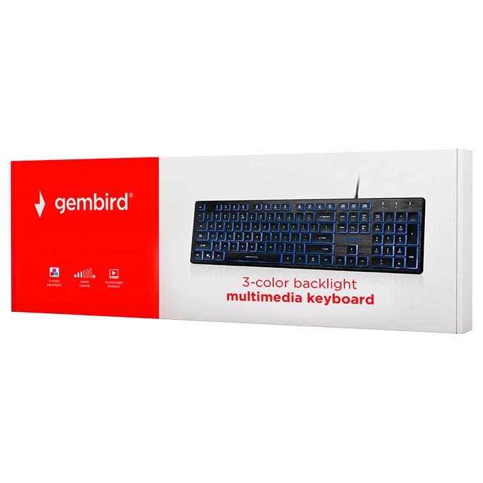 Клавіатура GEMBIRD KB-UML3-01-RU