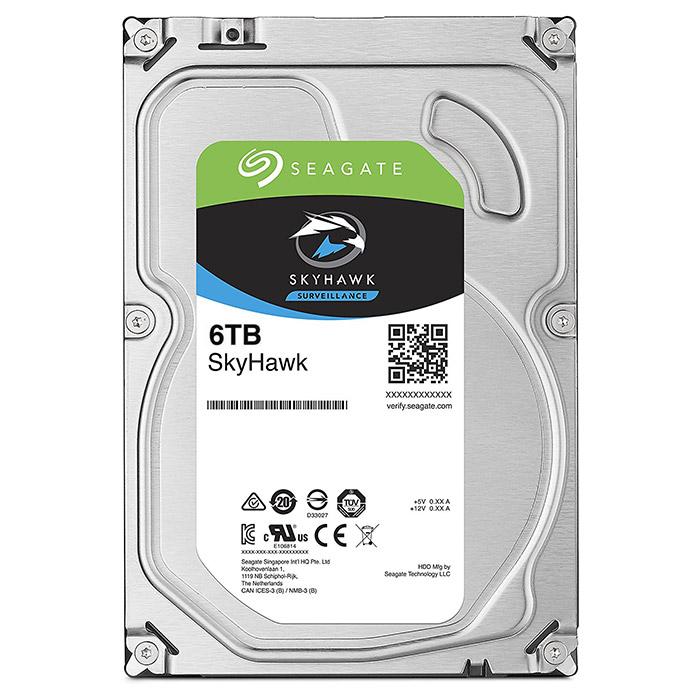 "Жорсткий диск 3.5"" SEAGATE SkyHawk 6TB SATA/256MB (ST6000VX001)"