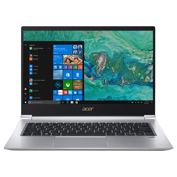 Ноутбук ACER Swift 3 SF314-55 Sparkly Silver (NX.H3WEU.038)