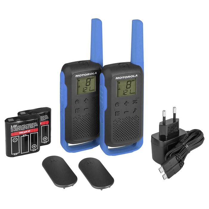 Набор раций MOTOROLA Talkabout T62 Blue 2-pack
