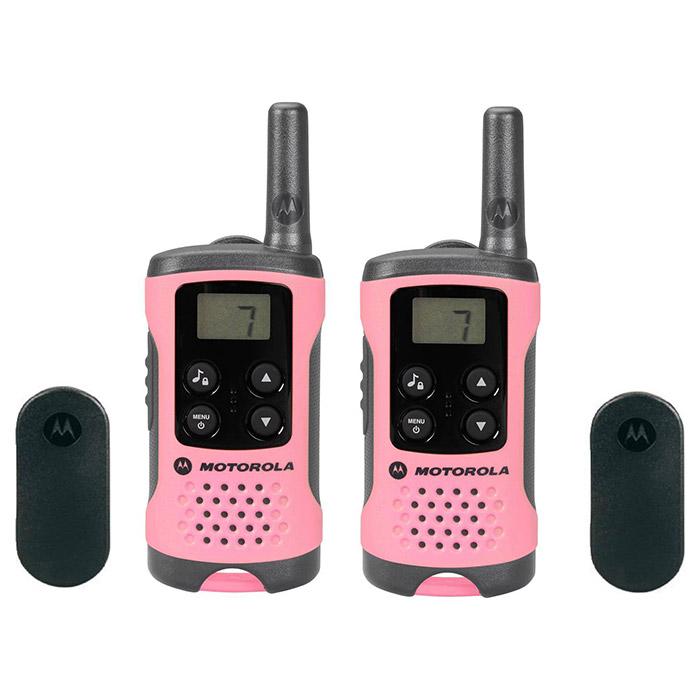 Набор раций MOTOROLA TLKR T41 Pink 2-pack