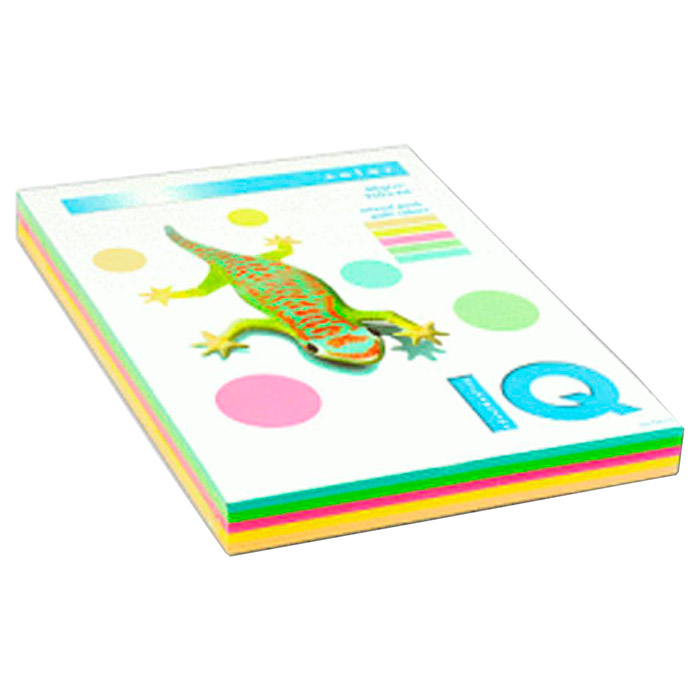 Папір кольоровий MONDI Pale Set A4 80г/м² 250л (A4.80.IQ.RB01.250)