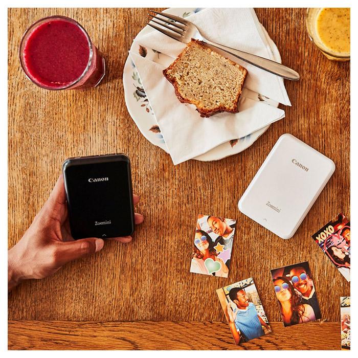 Мобільний фотопринтер CANON Zoemini PV123 Black